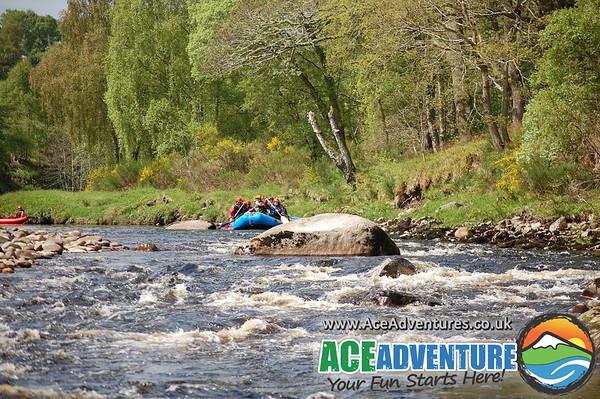 30th of May, Mild rafting & Canoe