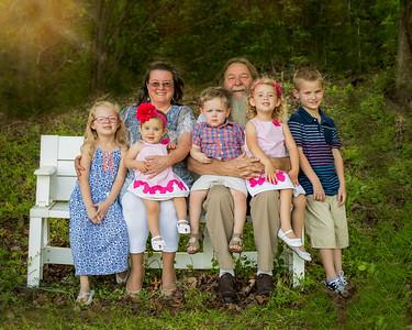 Jeanna and Bill Melton Family 2017