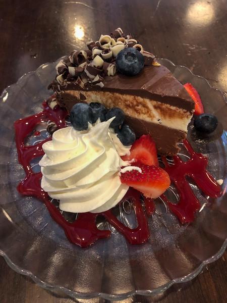Dessert at Knight's in Ann Arbor