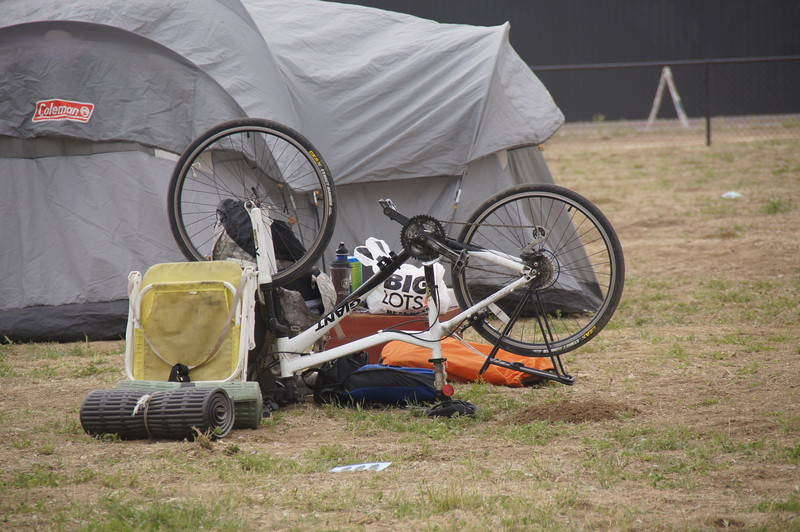 Camping - Bicyle