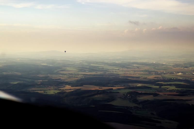 Balón nad Bouzovem