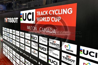 Track World Cup UCI Tissot Milton 2018     25 octobre 2018
