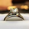 0.78ct Round Brilliant Diamond Bridal Set by Cartier 53