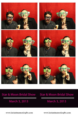 Star & Moon Bridal Show 3-3-2013
