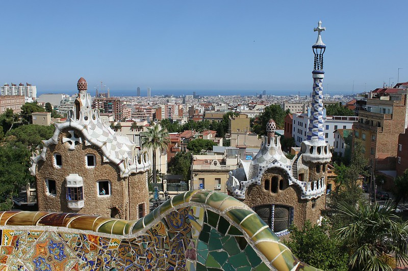 3 day weekend in Barcelona itinerary- Parc Guell