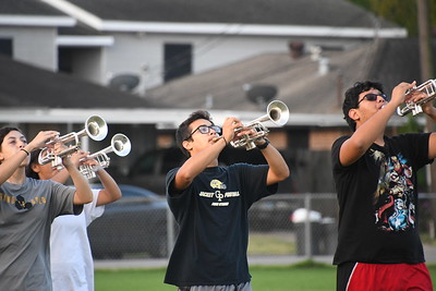 2019 Band am Practice