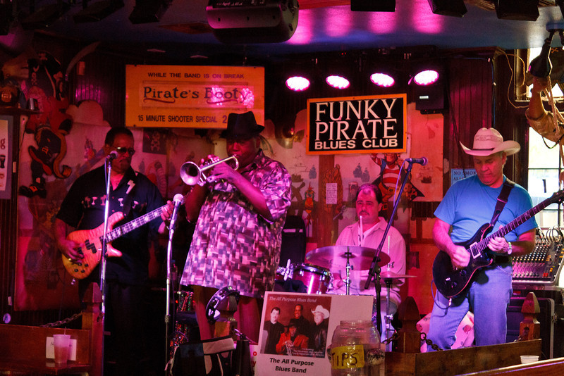 All Purpose Blues at the Funky Pirate