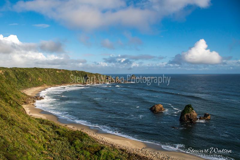 Cape Foulwind coastal lighthouse walk 01