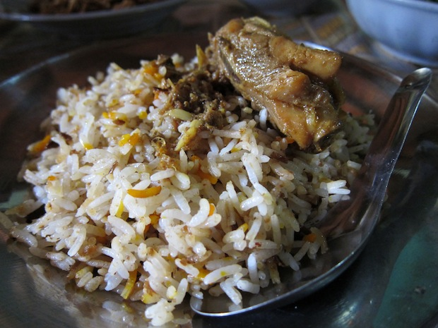 Nepali food in Mandalay