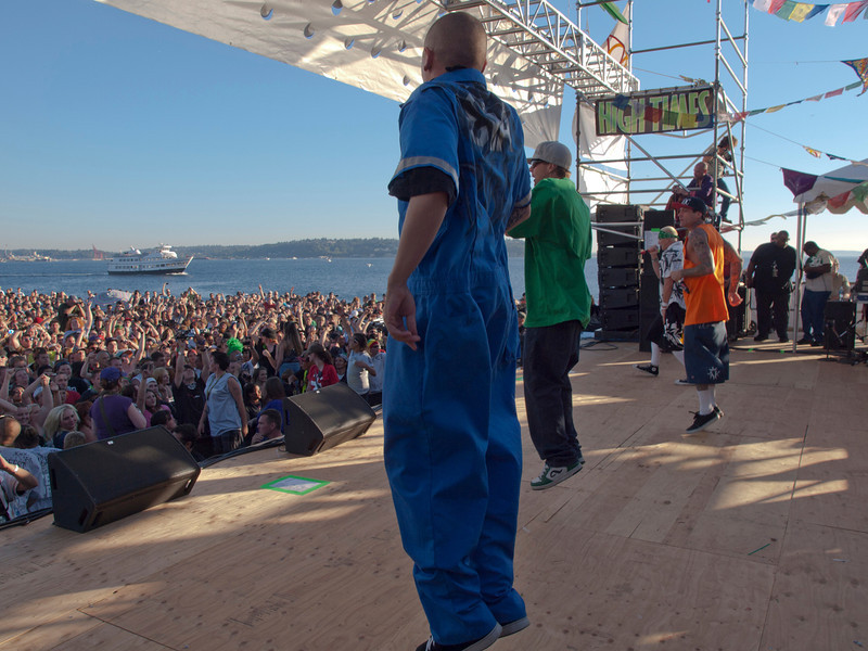 Kottonmouth Kings operform at Seattle Hempfest 2011.   Photo by Mari Wirta