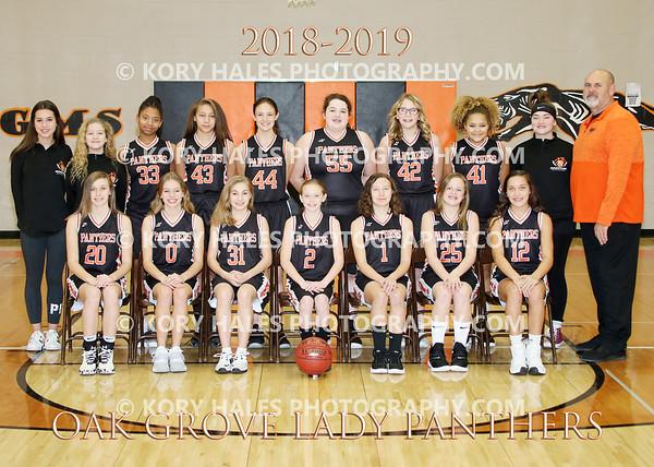 2018-2019 OGMS Girls Basketball
