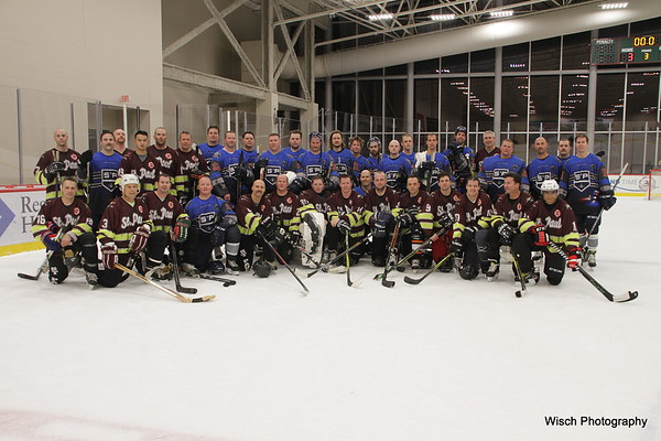 2019 St Paul Police v Firefighters Charity Game