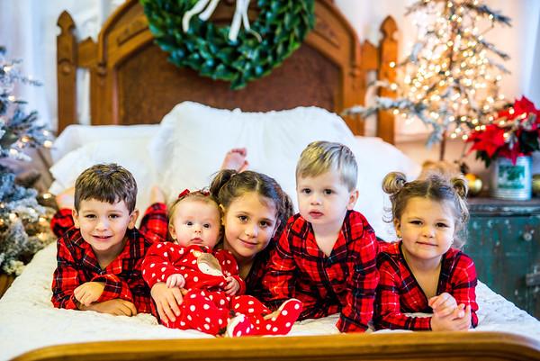Bull + Emersyn: Christmas PJs