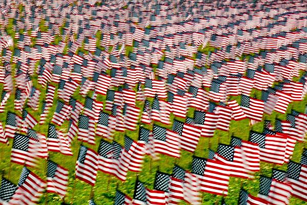 6,000 Memorial Flags