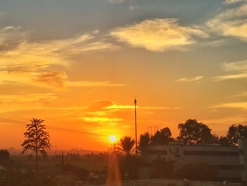 sunset in yehud LBD