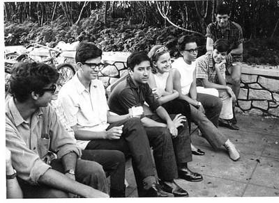 1968- Tó Zé Américo Santos, Mario Santos David, Victor Valente, Paula Santos David, Isabel Medeiros, José João Mendonça e Carlos Salgueiros