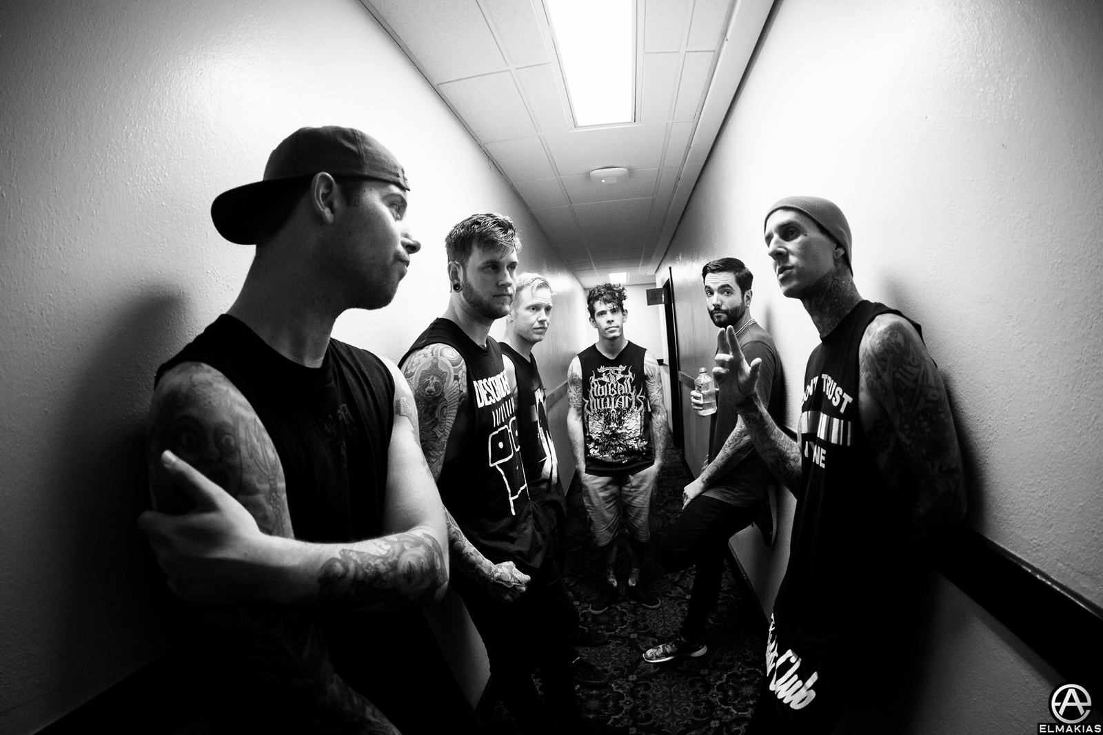 Travis Barker and A Day To Remember - The Parks And Devastation Tour by Adam Elmakias