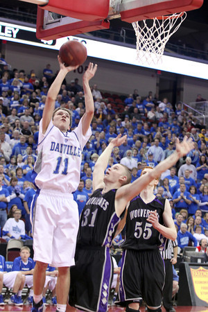 Boys Basketball, Nodaway Valley vs Danville State Semifinal 3/8/2012