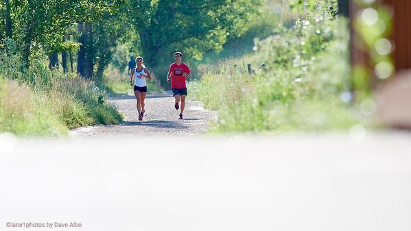 Hannah Mae and John, South Boulder Trail