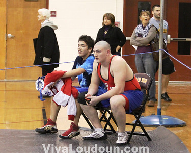 Wrestling: 2010 Dulles District Meet (photos by Dan Sousa)
