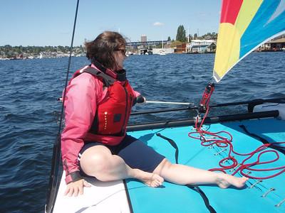 2008.06.17 Hobie sailing and Duck Dodge