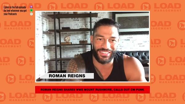 Roman Reigns - Screencaps / Complex Sports Podcast