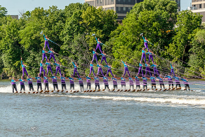 Waterski - Rock Aqua Jays - June 25, 2016 Mercury Open