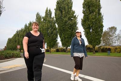 Girl friends half marathon 2011