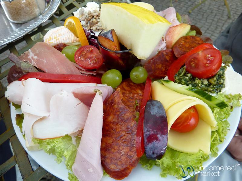 Breakfast Plate at A.Horn in Kreuzberg, Berlin