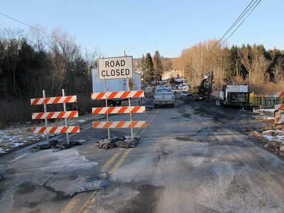 Catawissa Road Bridge Construction, Schuylkill Township (2-13-2012)
