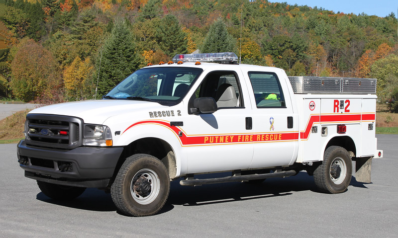 Rescue 2.  2004 Ford F-350 / Reading