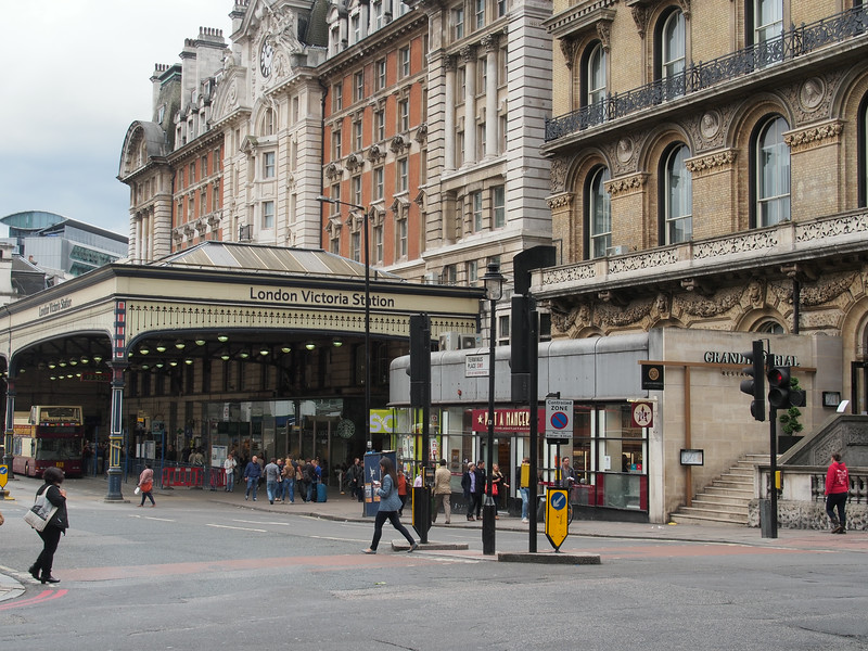 June 23/13 - London Victoria Station