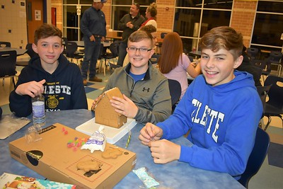 FFA Christmas Party & Gingerbread House Build Off