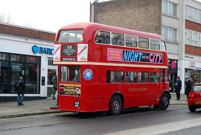 Ensign bus running days - Shenfield and Upminster