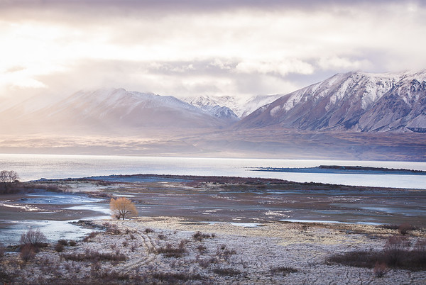 Lake Tekapo in Winter