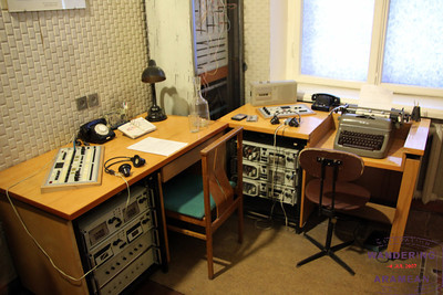 One of the KGB listening rooms was still mostly intact