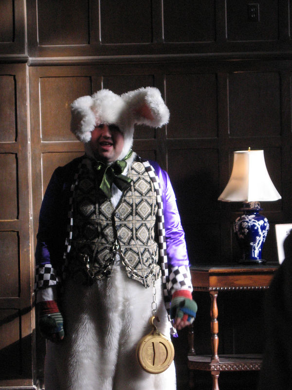 The March Hare. Taken at Casa Loma in December