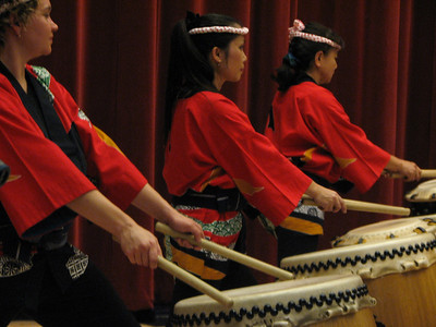 Triangle Taiko Performance, November 2007