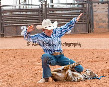 2018 Junior High Rodeo (Saturday) - Boys Goat Tying