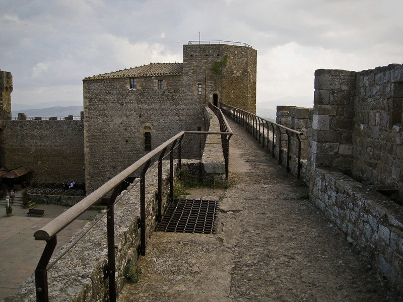 The Rocca in Montalcino