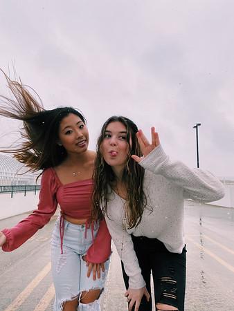 March 12 - Hailey Photos with Elise