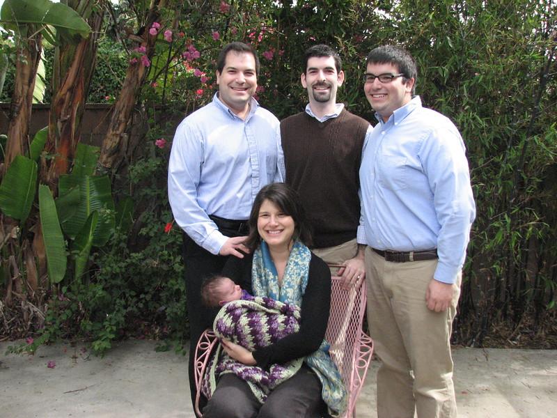 The Fifer Uncles: Craig (l), David, and Jordan (photo by Jamie Trachtenberg)