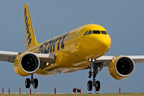 First Spirit Airlines A320NEO