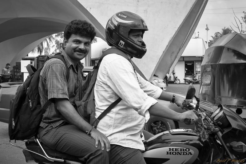 Smiling Passenger