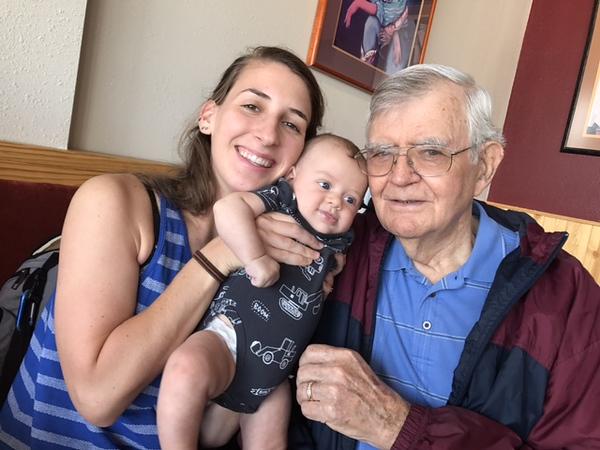 Meeting Grandpa Great