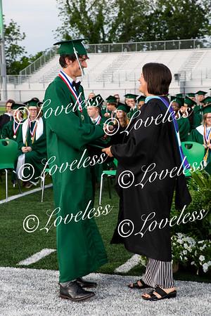 Class of 2021- Receiving Diplomas part 1