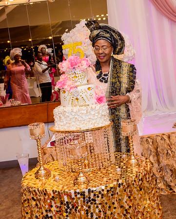 Mrs Ogunseyin @75