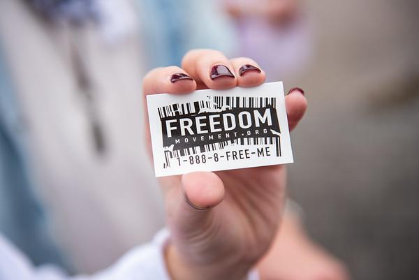 Anti-Human Trafficking Rally