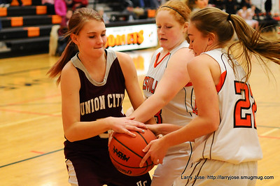 Jonesville vs Union City JV Girls Basketball