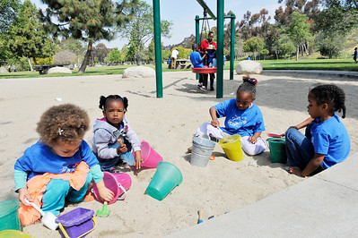 LITTLE ANGELS TAKE THE CHILDREN TO KENNETH HAHN PARK ON MARCH 25, 2013
